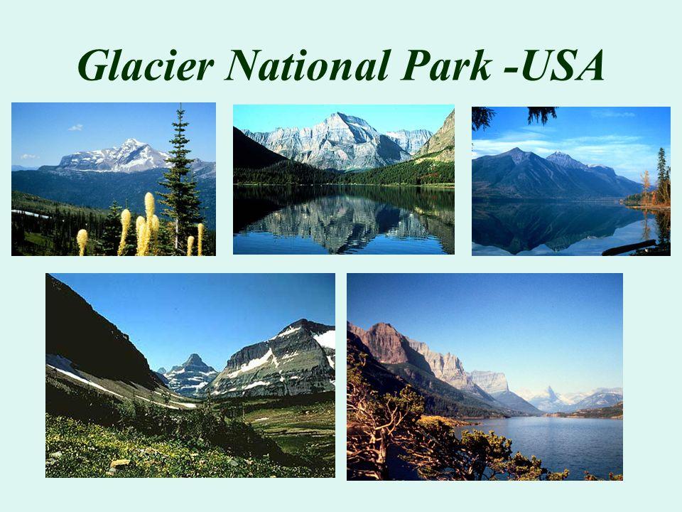 Glacier National Park -USA