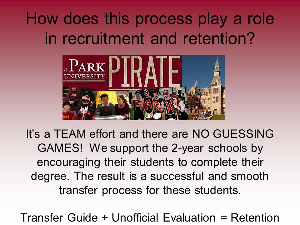 How does this process play a role in recruitment and retention.