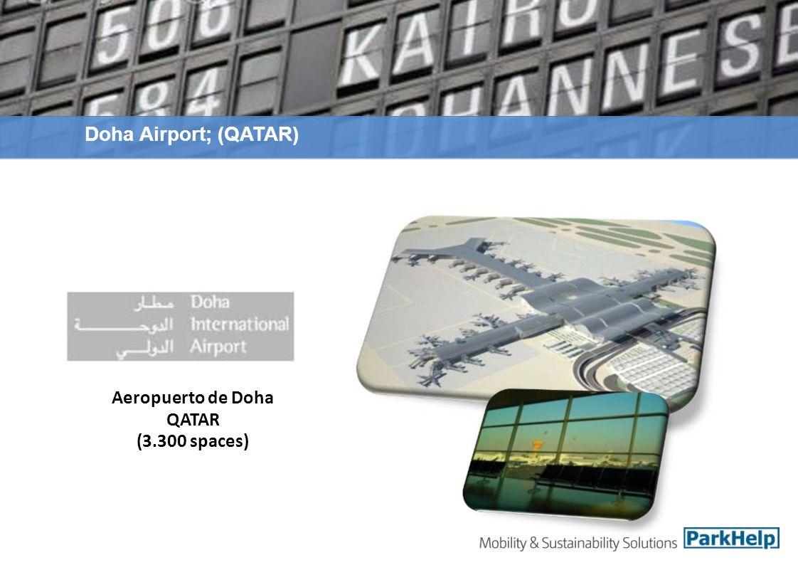 Aeropuerto de Doha QATAR (3.300 spaces) Doha Airport; (QATAR)