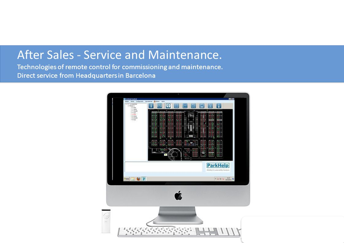 After Sales - Service and Maintenance.
