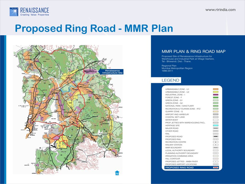 Proposed Ring Road - MMR Plan