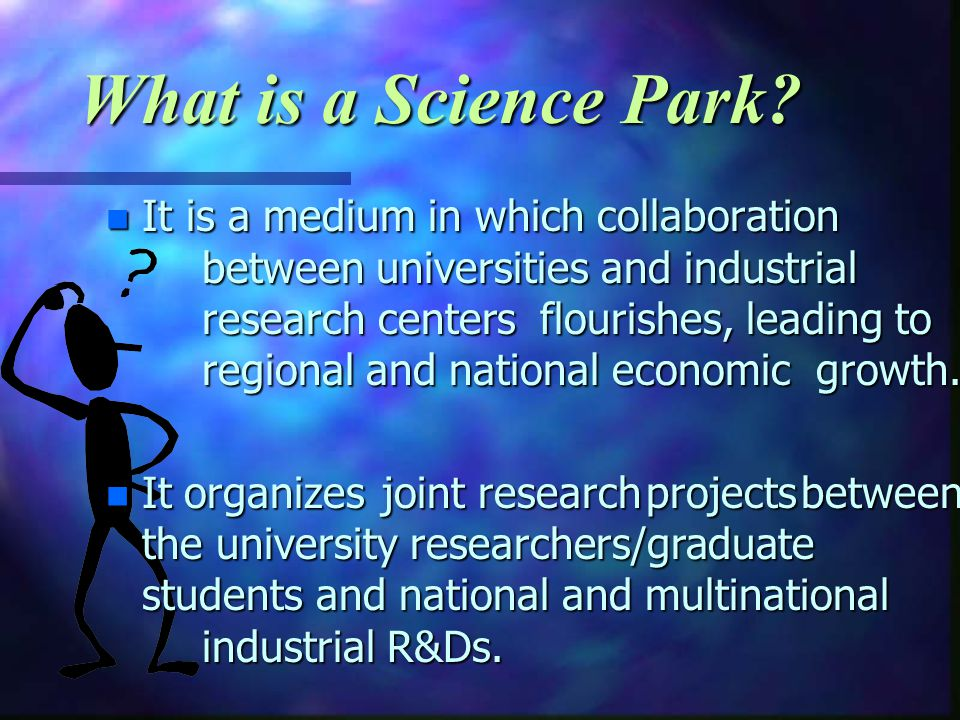 What is a Science Park.