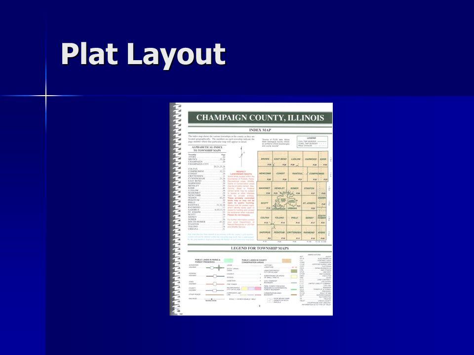 Plat Layout