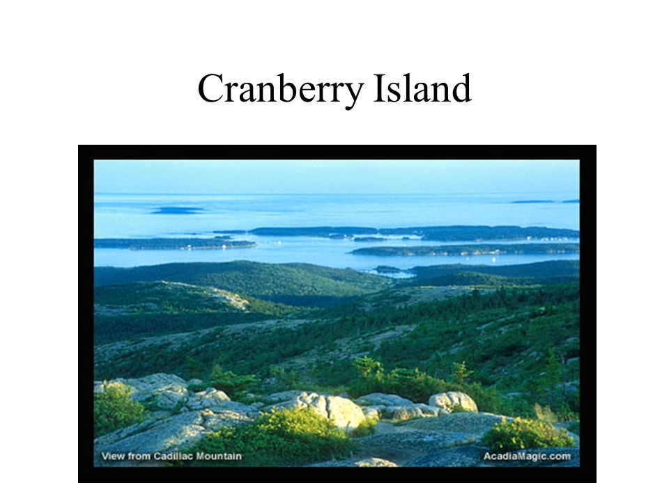 Cranberry Island