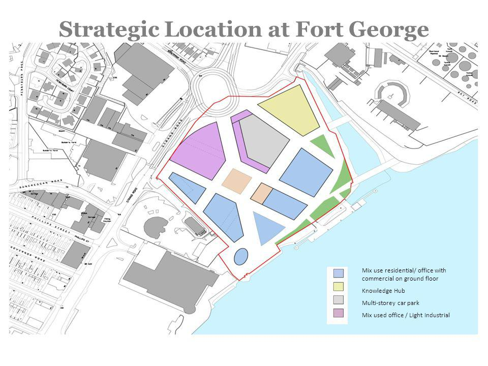 North West Regional Science Park third generation Science Park at Fort George Derry~Londonderry 50k sq ft (gross) & 20k sq ft (gross) LYIT.