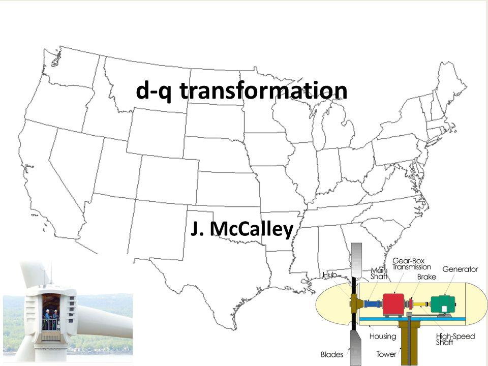 J. McCalley d-q transformation