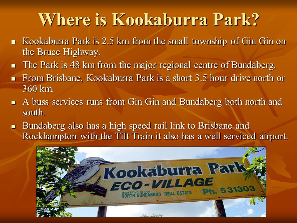 Where is Kookaburra Park.