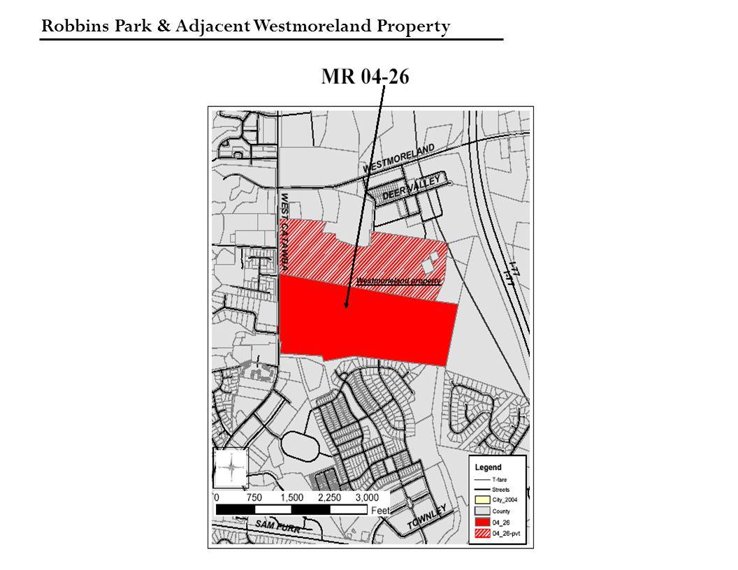 Robbins Park & Adjacent Westmoreland Property