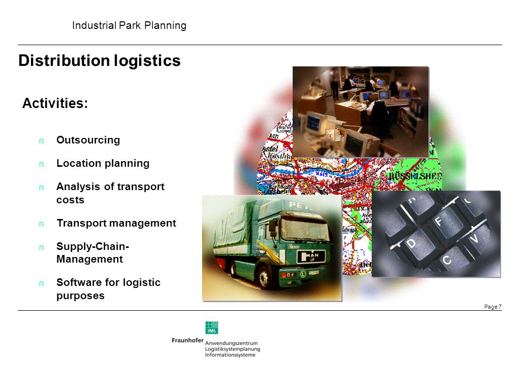 Industrial Park Planning Page 18 Strategic Layout Design Strategic Layout Design Strategic Function Design Fine-planning for each function with direct allocation Site partition with different functions / industries, e.g.