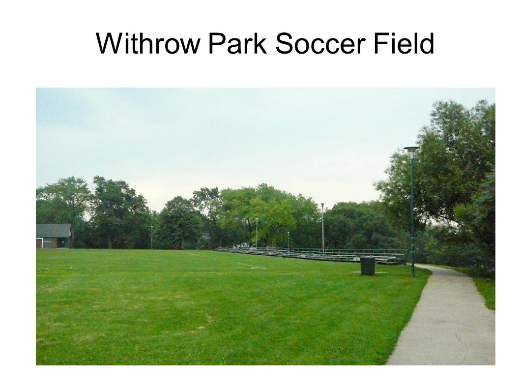 Withrow Park Soccer Field