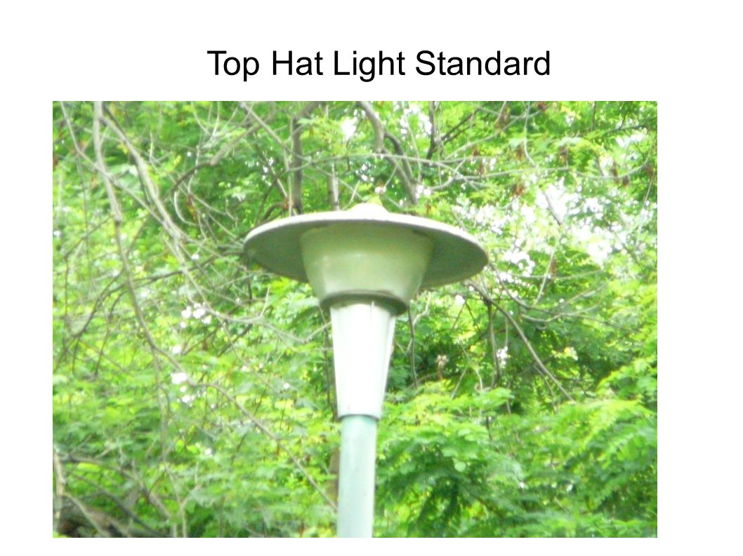 Top Hat Light Standard