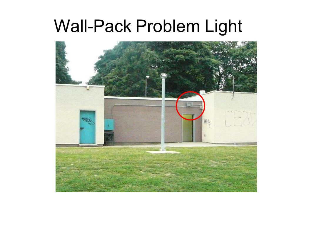 Wall-Pack Problem Light