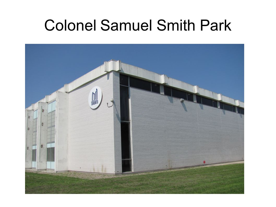 Colonel Samuel Smith Park