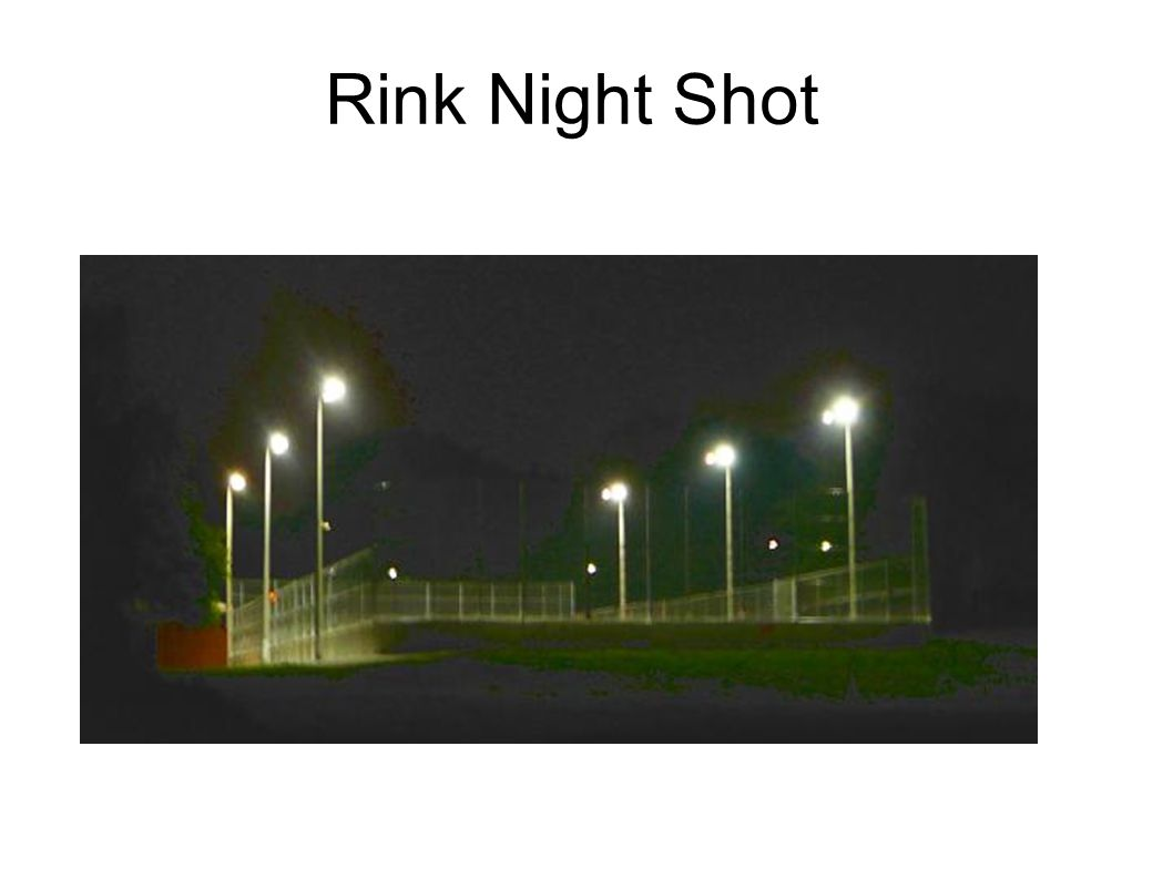 Rink Night Shot