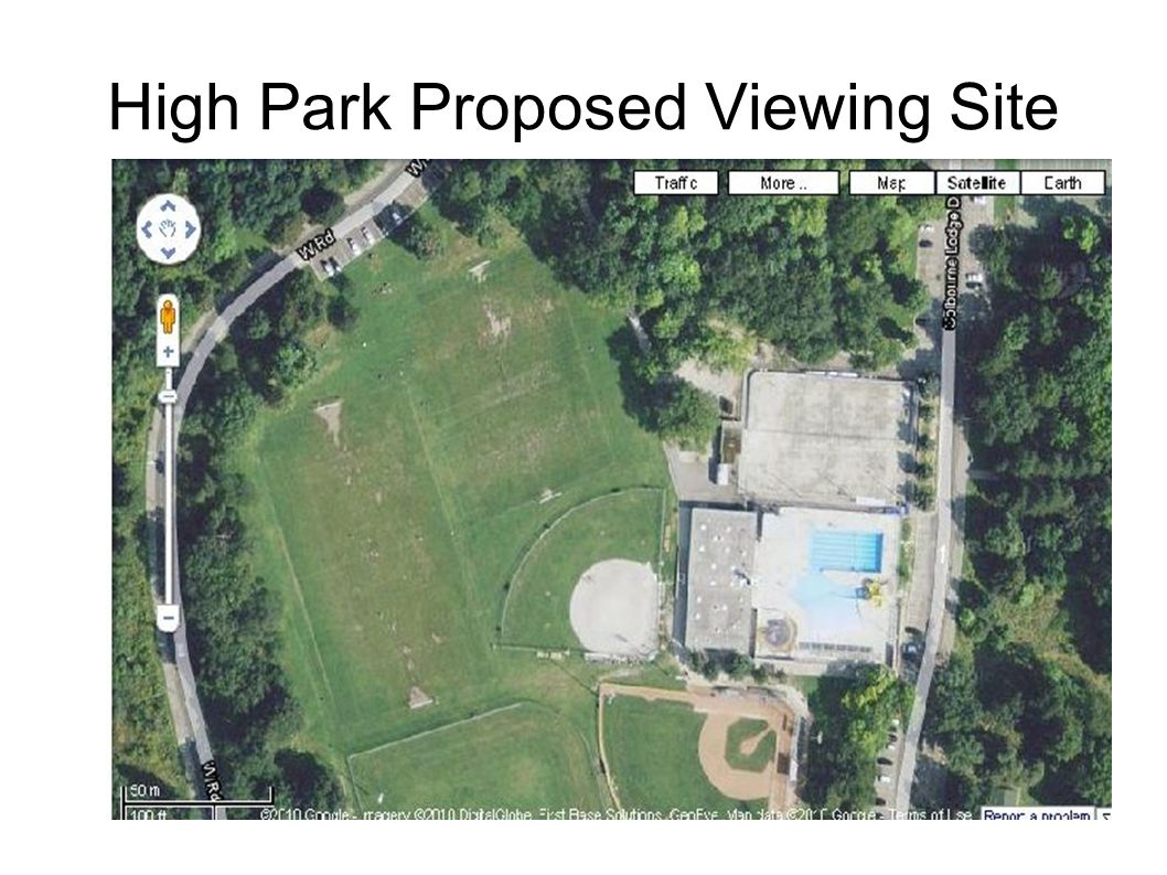 High Park Proposed Viewing Site
