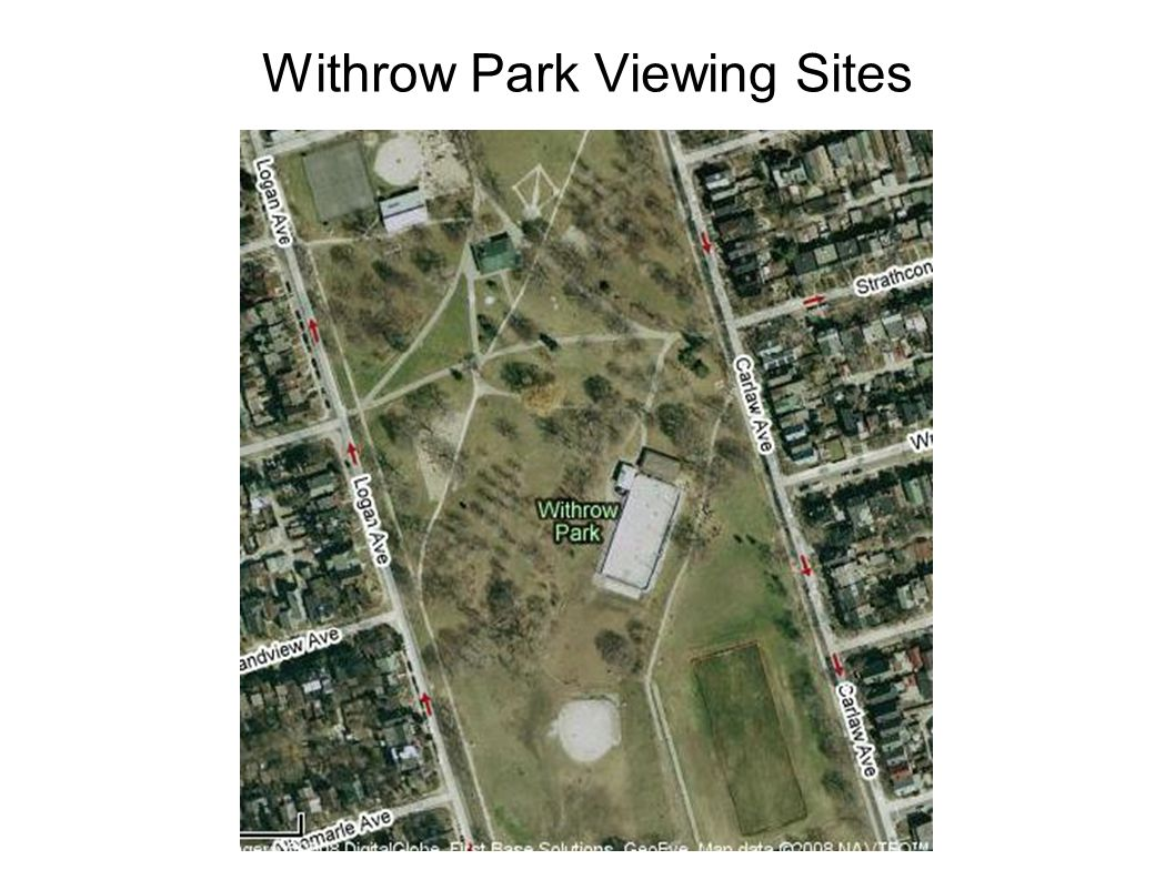 Withrow Park Viewing Sites