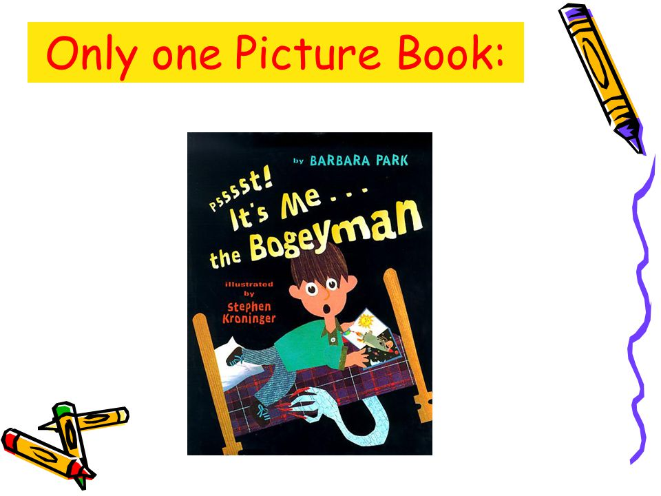 Only one Picture Book: