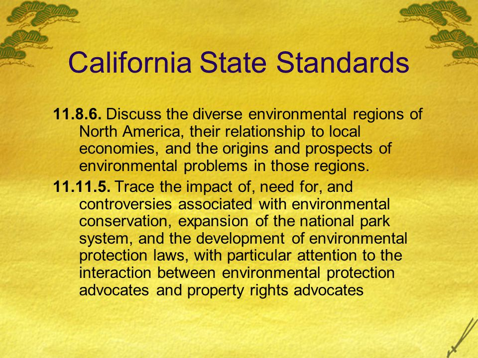 Introduction The National Park System is intended for All public use For Education For Recreation Our National Park System provides A sense of history Protection of wildlife Protection of important/unique geographic features Patriotism Conservation of valuable natural resources