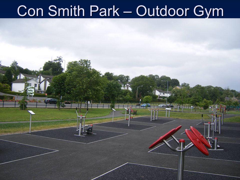 Con Smith Park – Outdoor Gym
