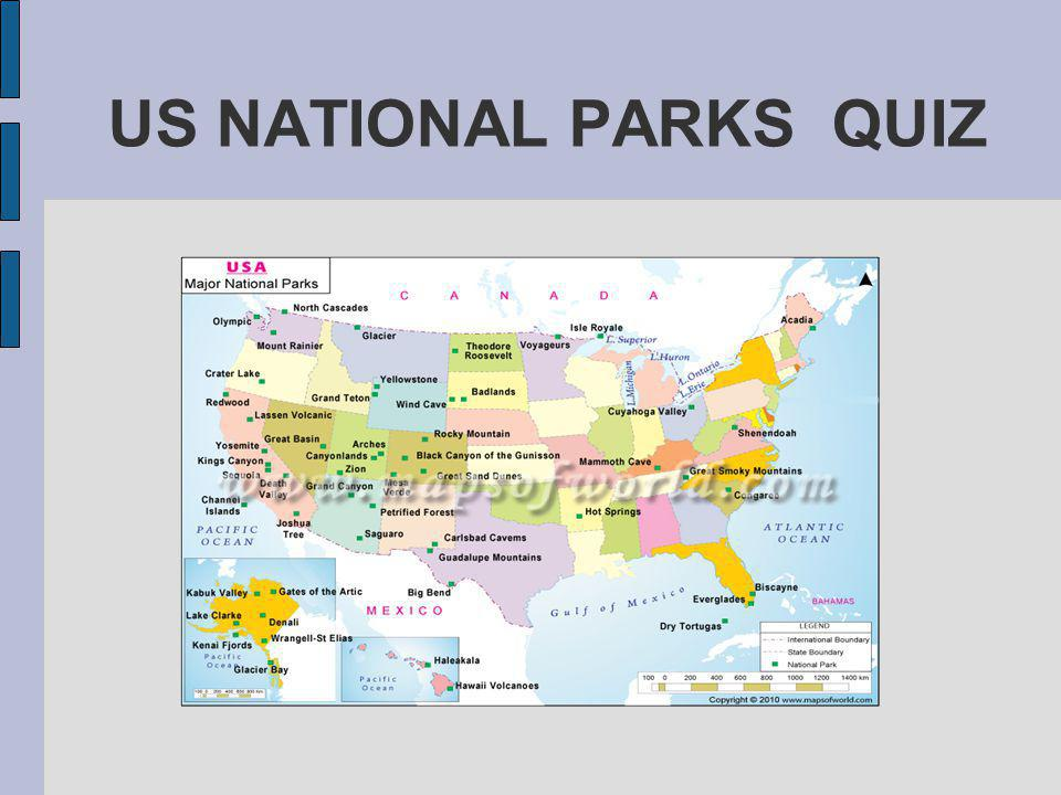 QUESTION 4 What is the oldest U.S.National Park.