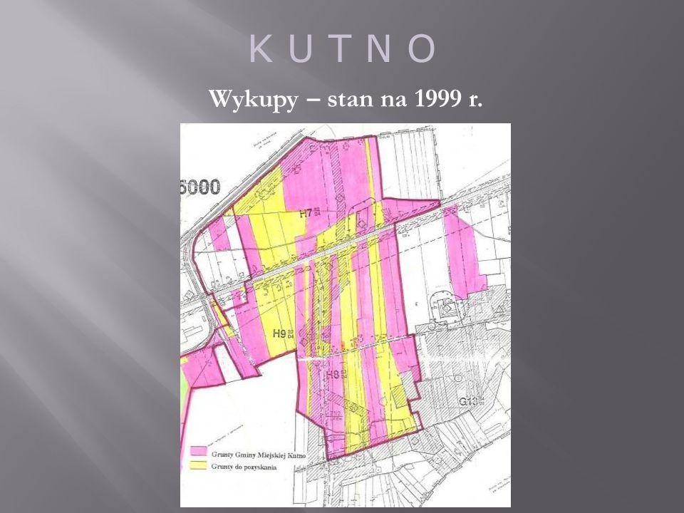 K U T N O Wykupy – stan na 1999 r.