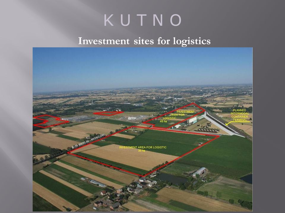 K U T N O Investment sites for logistics