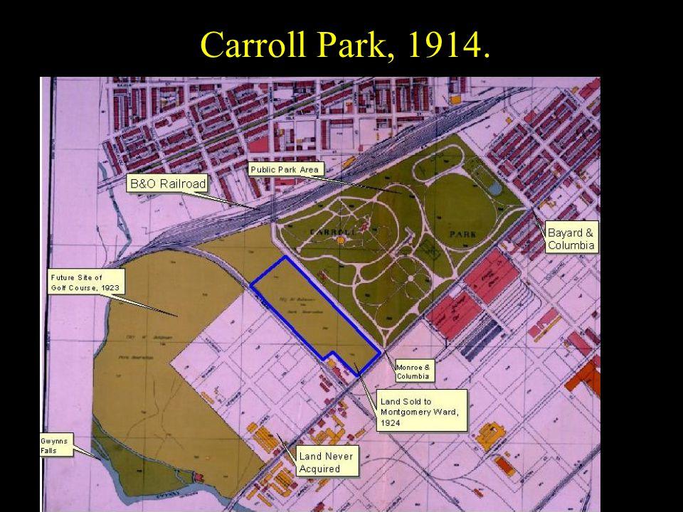 Carroll Park, 1914.