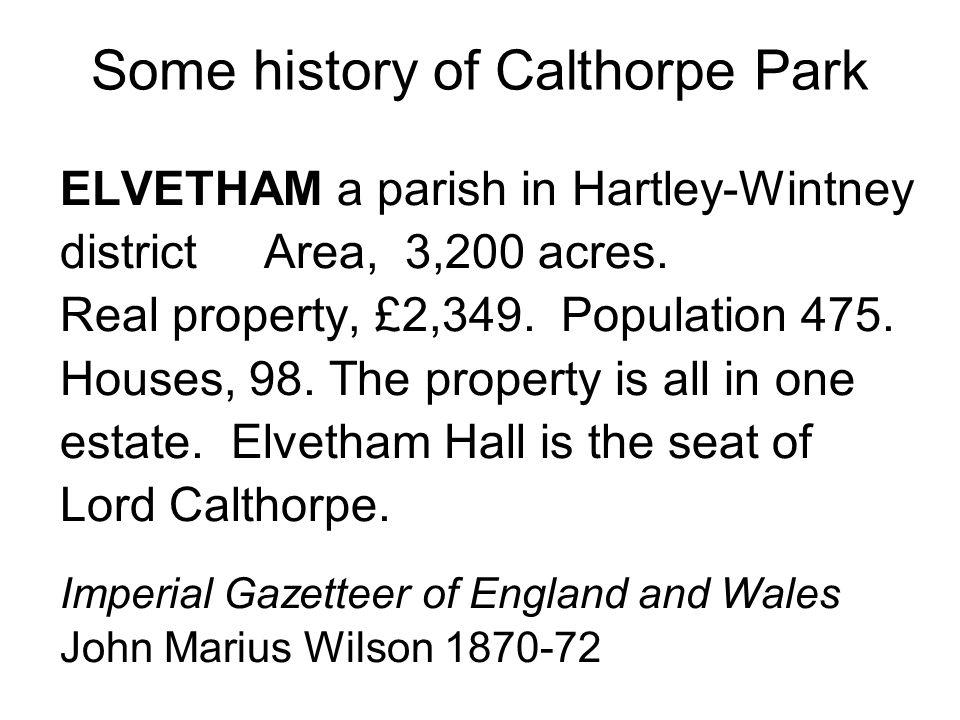 Calthorpe Park 1974