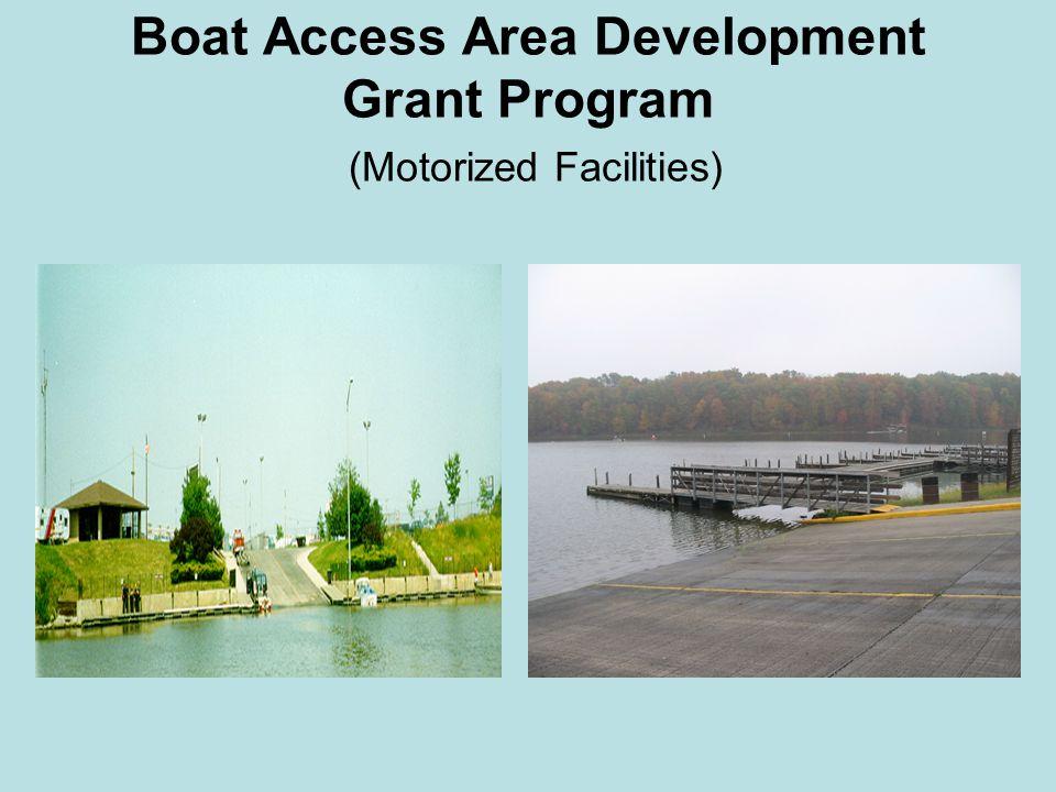 Boat Access Area Development Grant Program (Motorized Facilities)