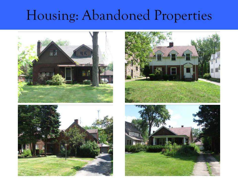Housing: Abandoned Properties