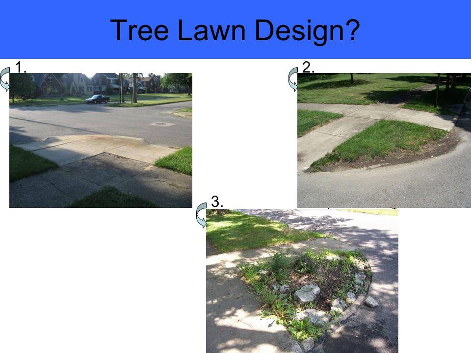 Tree Lawn Design 1.2. 3.