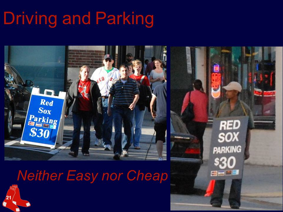 21 Driving and Parking Neither Easy nor Cheap