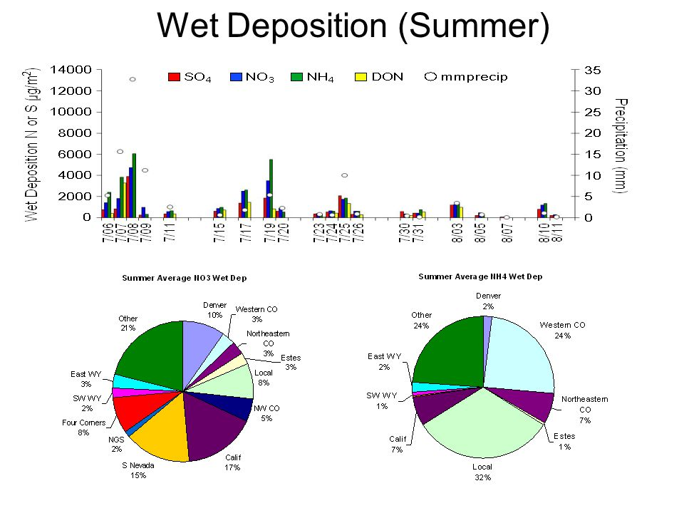 Wet Deposition (Summer)