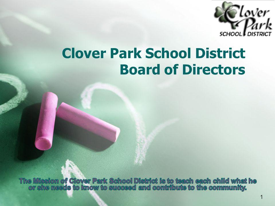 Clover Park School District Board of Directors 1