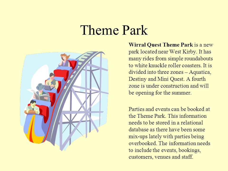 Theme Park Wirral Quest Theme Park is a new park located near West Kirby.