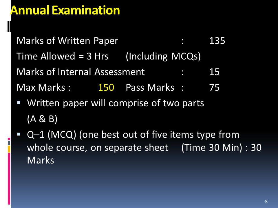 Part – A SEQs/SAQs (15 Marks each) Q–2 PBQ Whole course Q–3 Epidemiology (Gen & Spec) + Screening of Diseases Q–4Statistics Q–5 Communicable / non communicable diseases 9
