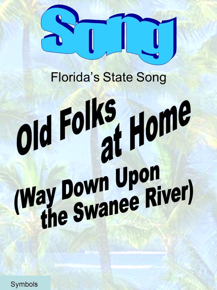 Floridas State Song Symbols