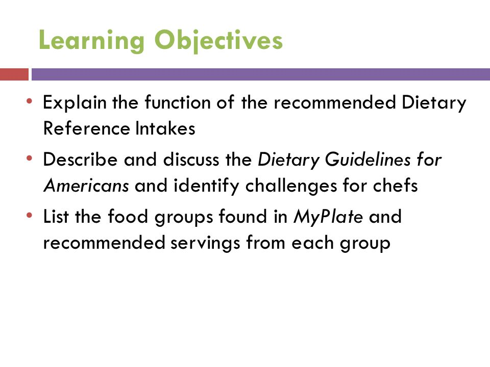 Learning Objectives Explain how MyPlate encourages variety, proportionality and moderation Read and analyze food labels, nutrient claims and health claims Discuss the attributes and limitations of various food rating systems