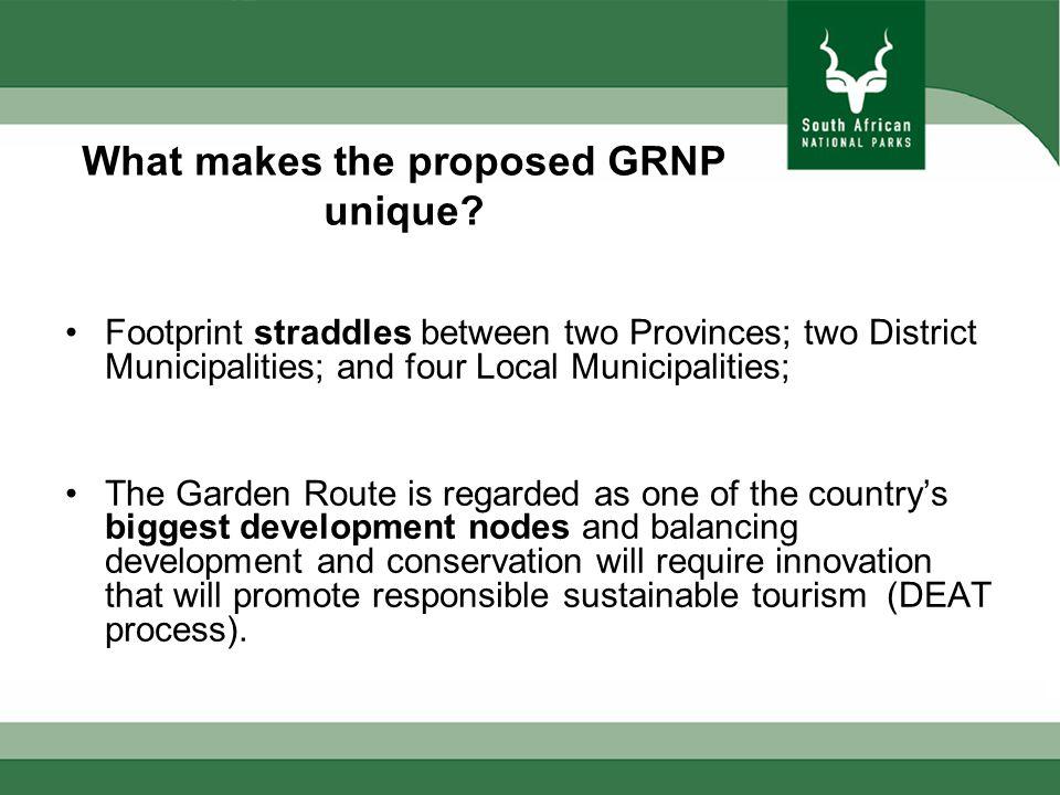 What makes the proposed GRNP unique.