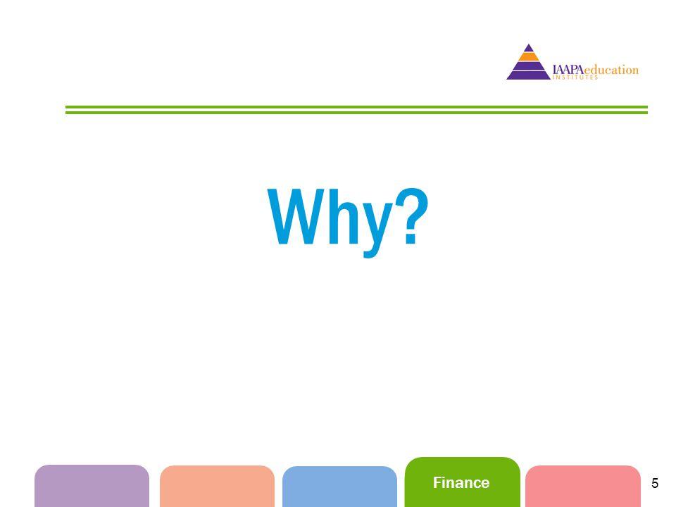 Finance 5 Why