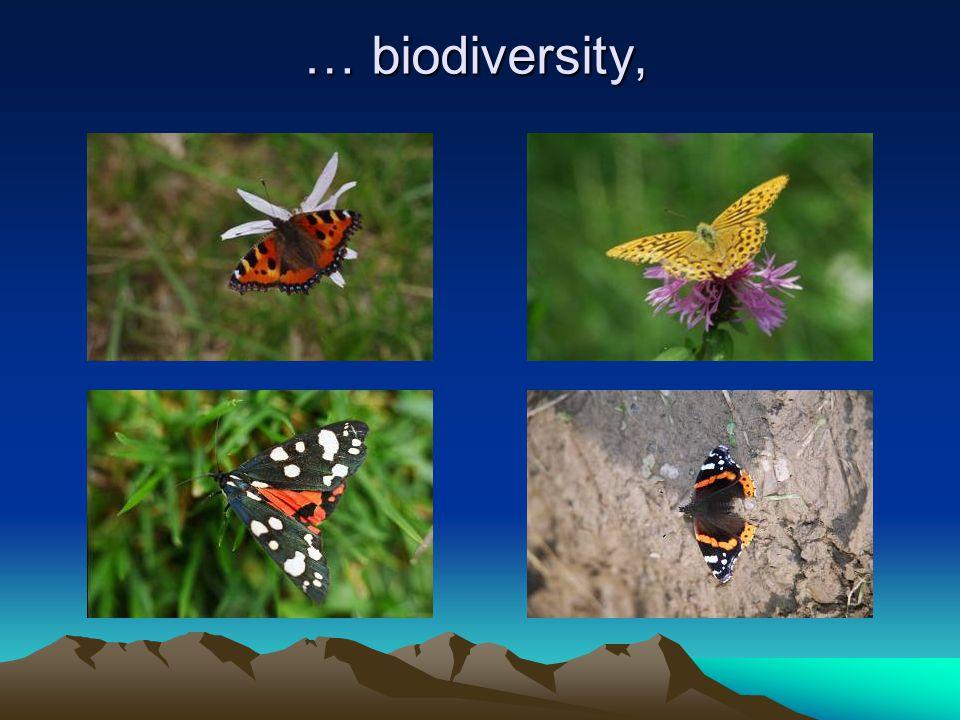 … biodiversity,