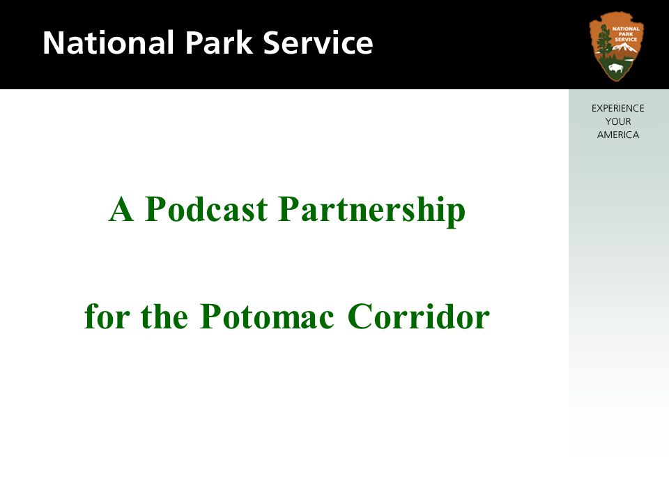 A Podcast Partnership for the Potomac Corridor