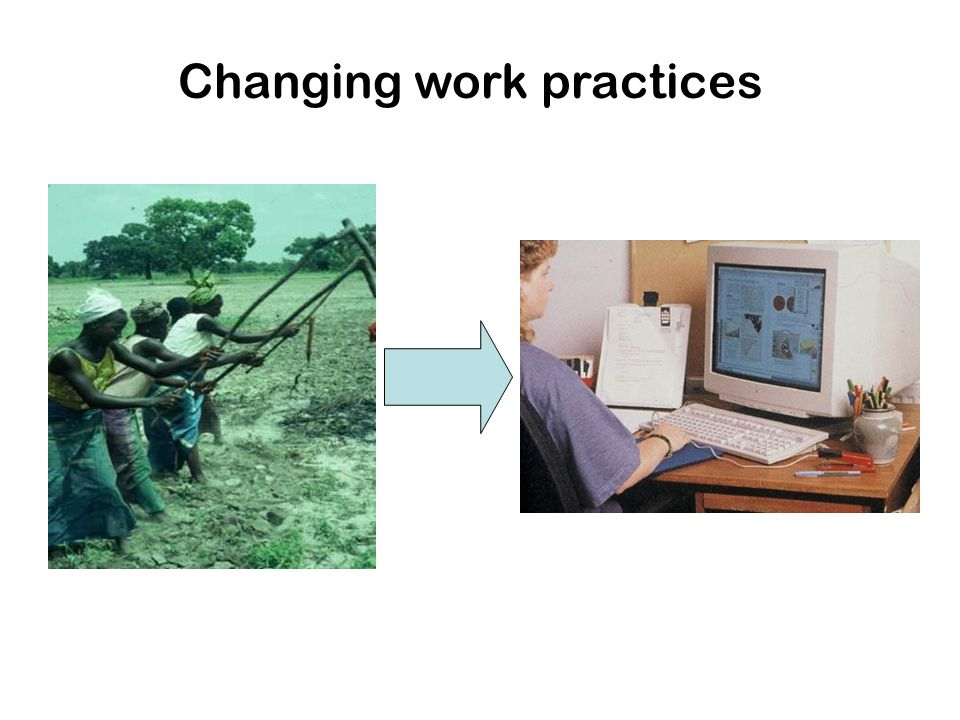 Changing work practices