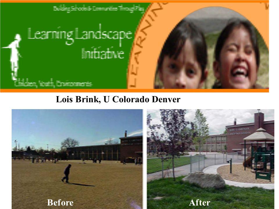 BeforeAfter Lois Brink, U Colorado Denver