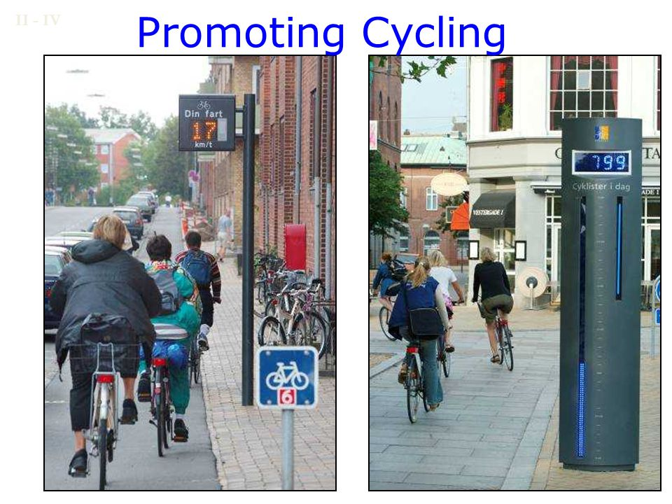 Promoting Cycling II - IV