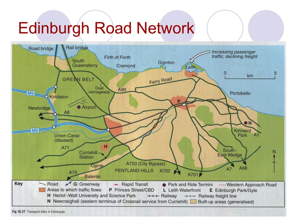 Edinburgh Road Network
