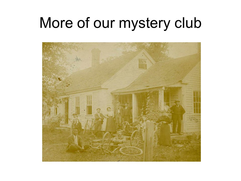 More of our mystery club