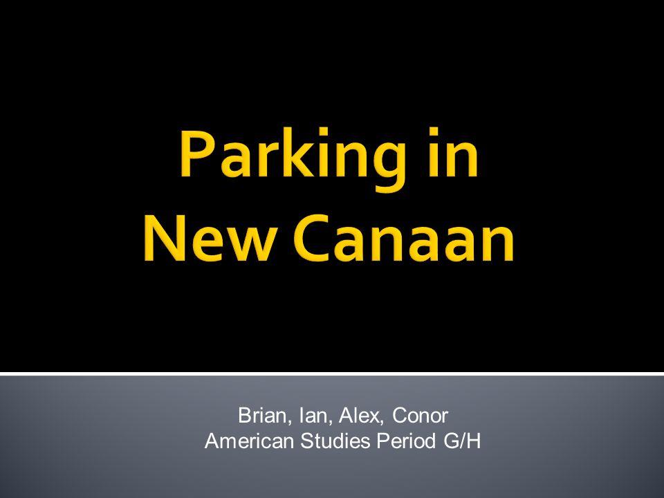 Brian, Ian, Alex, Conor American Studies Period G/H