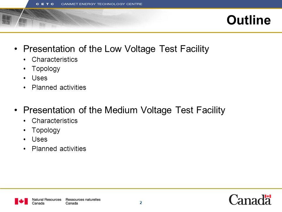 3 LV Test Facility Display