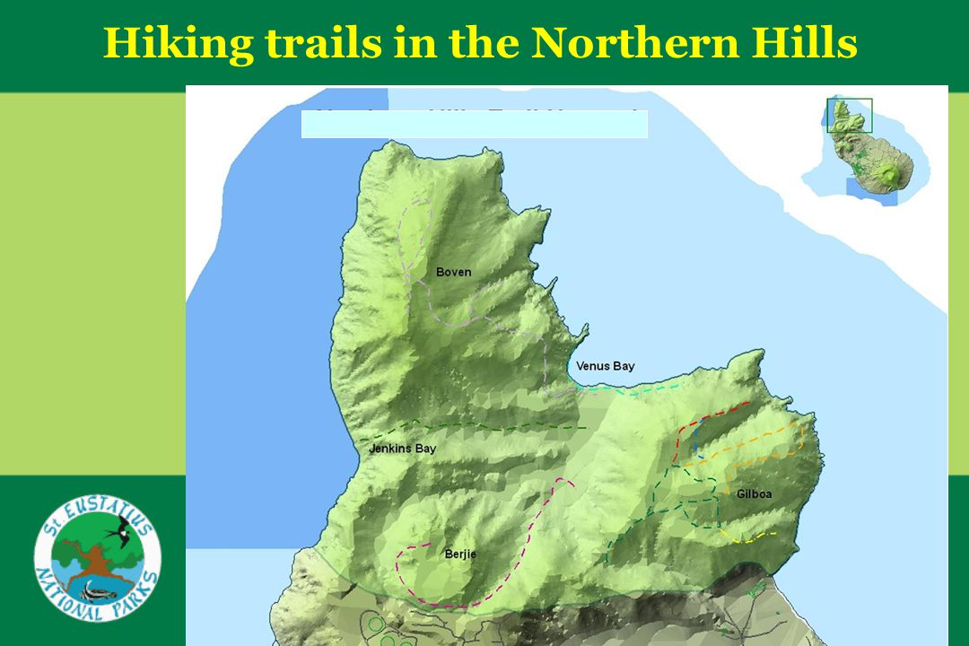 Hiking trails in the Northern Hills